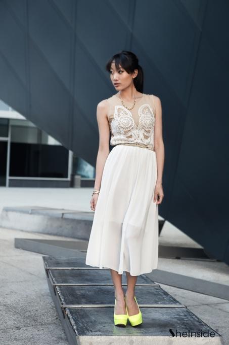 DRESS: SHEINSIDE
