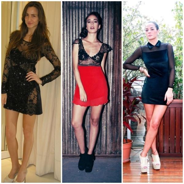 Natalia Antolin, Penny Love y Estefania Dez (en facebook)