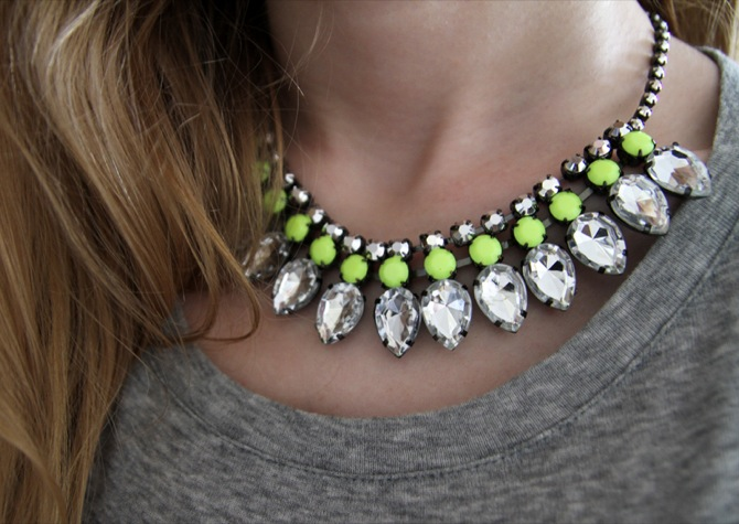 Collares-neon-primavera-verano 2012 H&M