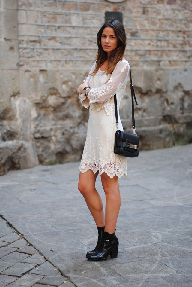 lace dress, zara, zina, fashionvibe