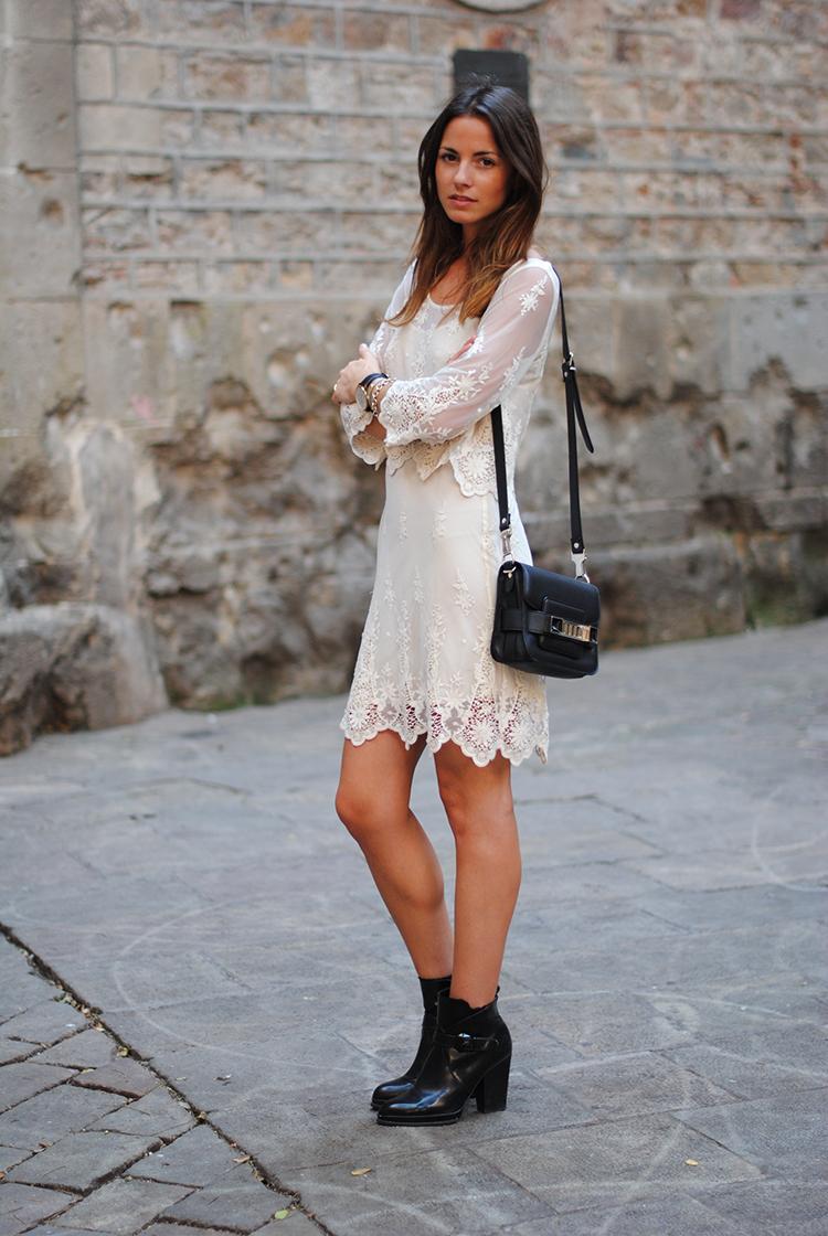 lace dress, zara, zina, fashionvibe