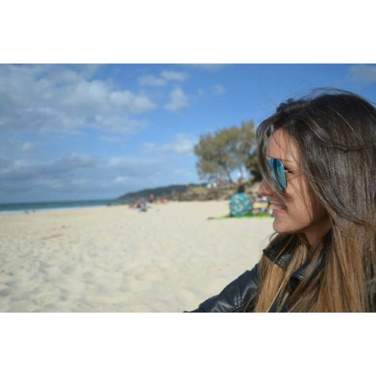Enjoying the beach (Arlie Beach-Australia)
